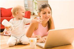 Совмещение воспитания детей и работы
