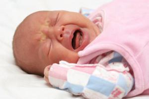Колики у младенца, или три месяца плача