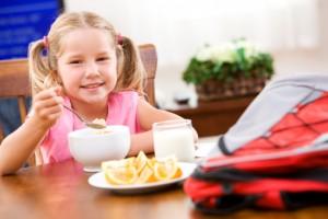 Полноценный завтрак для школьника