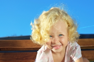 Кудрявые дети - это мило? Да!