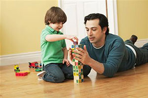 Воспитание ребенка его отцом