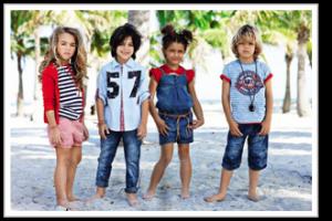 Яркая и веселая детская мода
