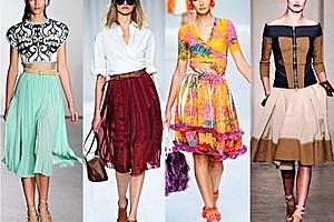 Какие юбки модны в этом сезоне