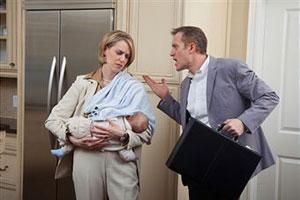 Семейный кризис после рождения ребенка