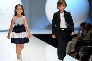 Детская мода и веяние эпох