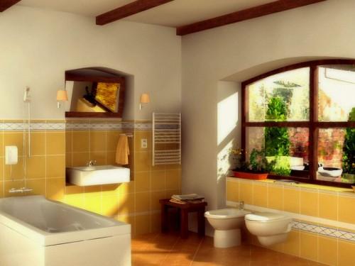 Женский дизайн для ванной
