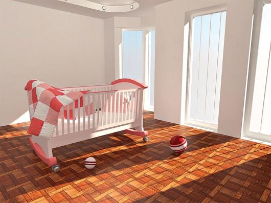Выбираем кроватку для малыша