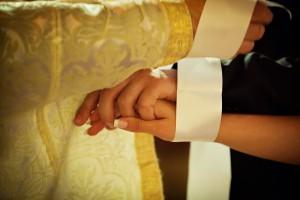 Православное венчание в Праге, в Кафедральном соборе