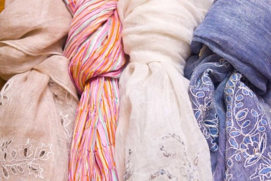 Шейные платки: искусство носить и завязывать