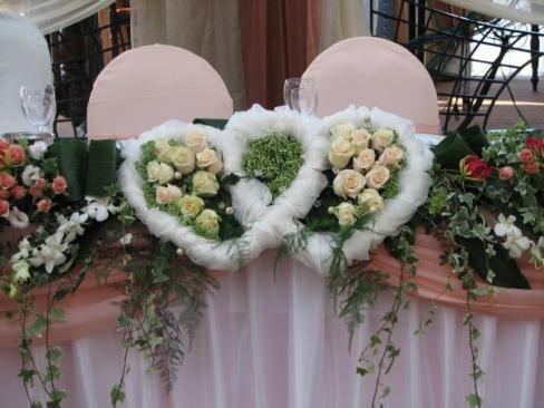 Оформление свадьбы ландышами