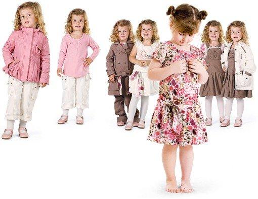 В развитии ребенку может помочь детская одежда